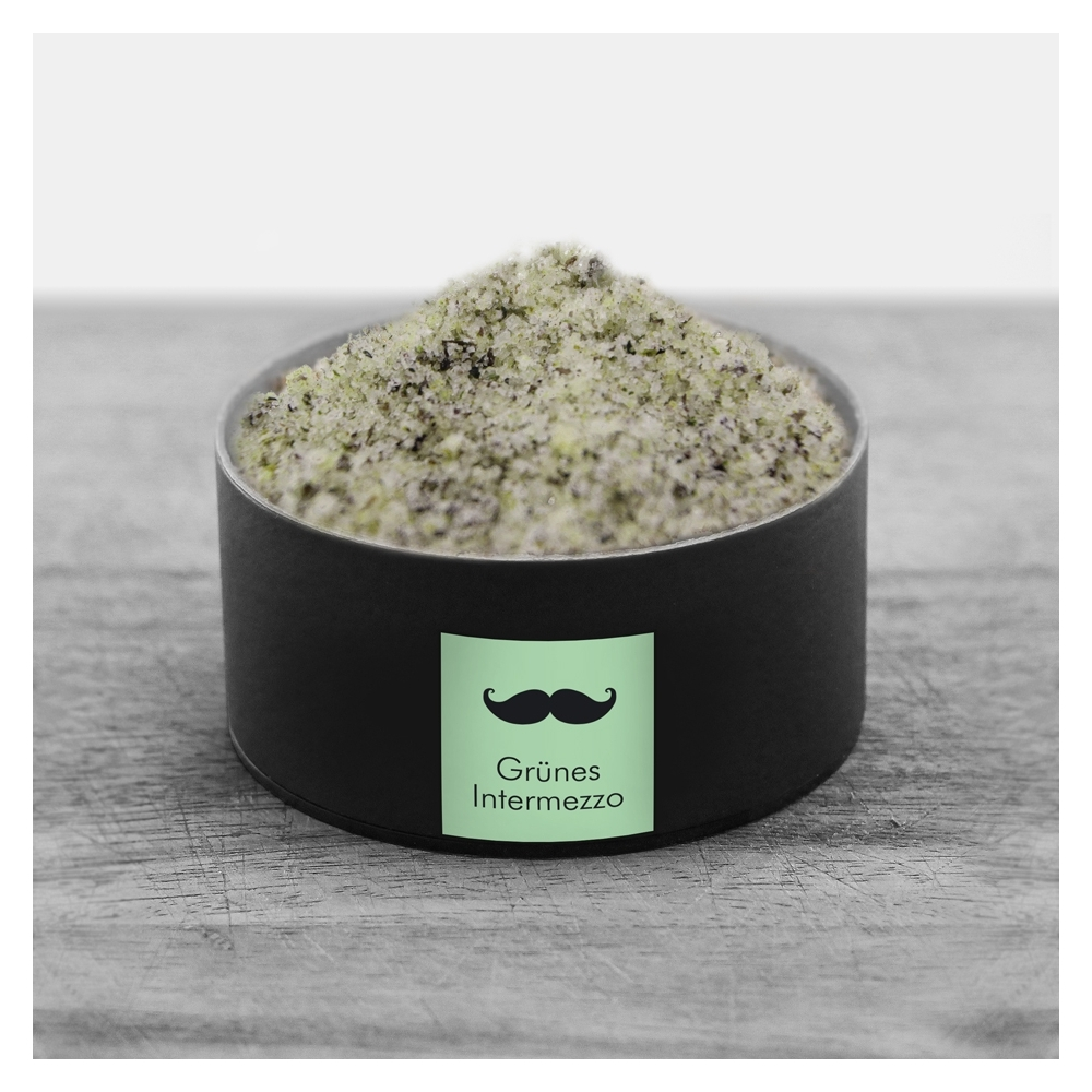 Grünes Intermezzo - Algen Salz